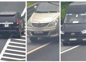 Liên tiếp xử lý các tài xế lùi xe nguy hiểm trên cao tốc Hà Nội – Hải Phòng