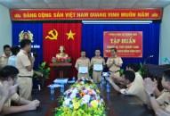 Trạm KSGT Bạch Đằng– Phòng Cảnh sát đường thủy tổ chức chương trình rèn luyện thủy nghiệp