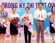 Huyện Vĩnh Bảo: Biểu dương học sinh, giáo viên có thành tích cao trong kỳ thi THPT năm 2019