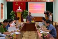 Tiểu ban Văn kiện Đại hội XVI khảo sát tại Quận ủy Đồ Sơn về công tác đảm bảo quốc phòng an ninh và đối ngoại