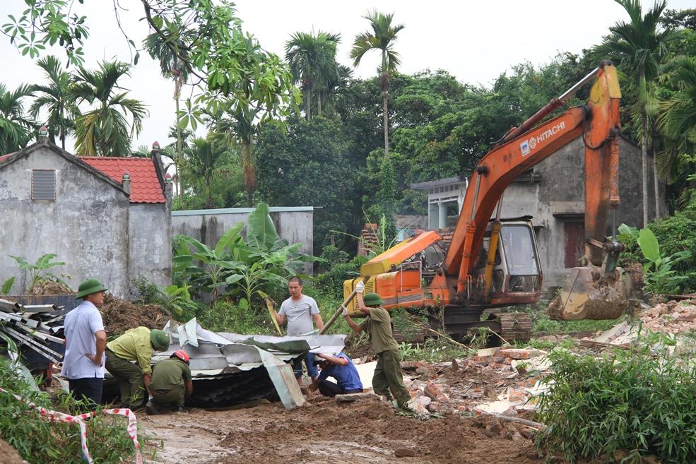 Triển khai GPMB đoạn chạy qua xã Đặng Cương, An Dương