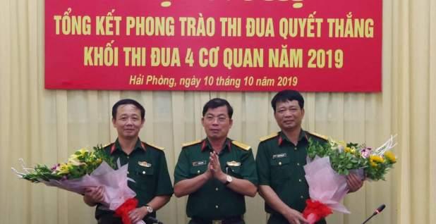 Khối cơ quan Bộ CHQS TP. Hải Phòng: Tổng kết phong trào thi đua năm 2019