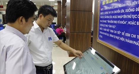 Hơn 1.300 hồ sơ thủ tục hành chính được xử lý trên Cổng dịch vụ công quốc gia