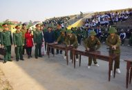 Huyện An Dương hội thao Giáo dục Quốc phòng