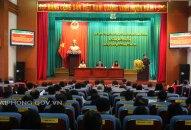 Khai mạc Kỳ họp thứ 14 HĐND quận Ngô Quyền khóa XVIII, nhiệm kỳ 2016 – 2021