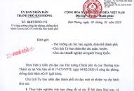 UBND thành phố có công văn số 661/UBND-VX về một số nhiệm vụ cấp bách phòng, chống dịch bệnh Corona trên địa bàn thành phố.