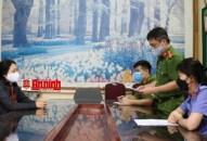 Khởi tố đối tượng Vũ Thị Thu Vân về hành vi chống người thi hành công vụ
