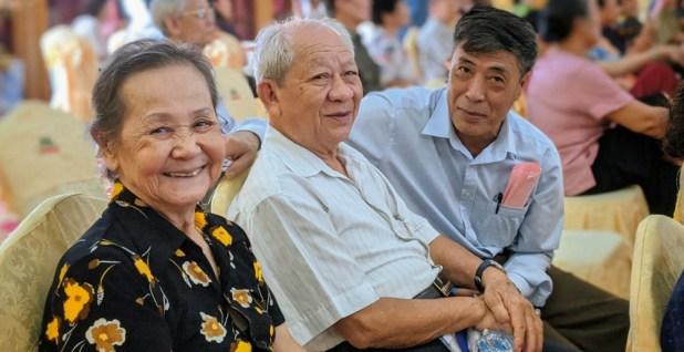 Phường Máy Tơ (quận Ngô Quyền) tổ chức Lễ mừng thọ cho hơn 230 hội viên Hội Người cao tuổi trên địa bàn