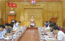 Kiểm tra công tác chuẩn bị tổ chức Đại hội Đảng bộ huyện Kiến Thụy lần thứ XXV, nhiệm kỳ 2020 – 2025
