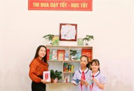 """Huyện An Dương: """"Thư viện 50K"""" – mô hình thí điểm đầu tiên trên địa bàn thành phố có quy trình trao đổi sách thường niên và mở rộng"""