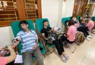 """Gần 400 đơn vị máu thu được từ Ngày hội hiến máu tình nguyện """"Chủ nhật hồng"""" của quận Hải An"""