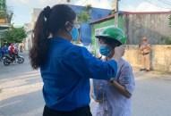 """Gần 100 đoàn viên thanh niên tình nguyện quận Hải An tham gia chương trình """"Tiếp sức mùa thi"""" năm 2020"""
