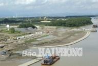 Dự án xây dựng tuyến đê tả Bắc sông Cấm: Góp phần phát triển kinh tế, du lịch và đô thị mới