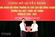 Công nhận Hội đồng Trường, Chủ tịch Hội đồng Trường ĐH Y dược Hải Phòng