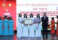 Quận Lê Chân: Lễ kỷ niệm 38 năm Ngày Nhà giáo Việt Nam và biểu dương Nhà giáo tâm huyết, sáng tạo
