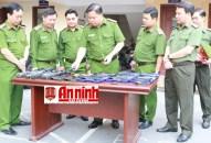 Phòng Cảnh sát QLHC về TTXH-CATP: Thực hiện đồng bộ các giải pháp đưa Luật Quản lý, sử dụng vũ khí, vật liệu nổ, công cụ hỗ trợ đi vào cuộc sống