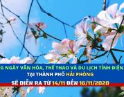 Những ngày Văn hóa, Thể thao và Du lịch tỉnh Điện Biên tại thành phố Hải Phòng sẽ được diễn ra từ 14 đến 16/11