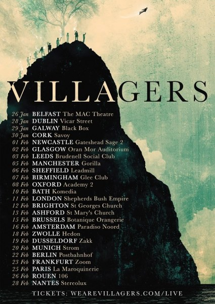 villagers tour poster
