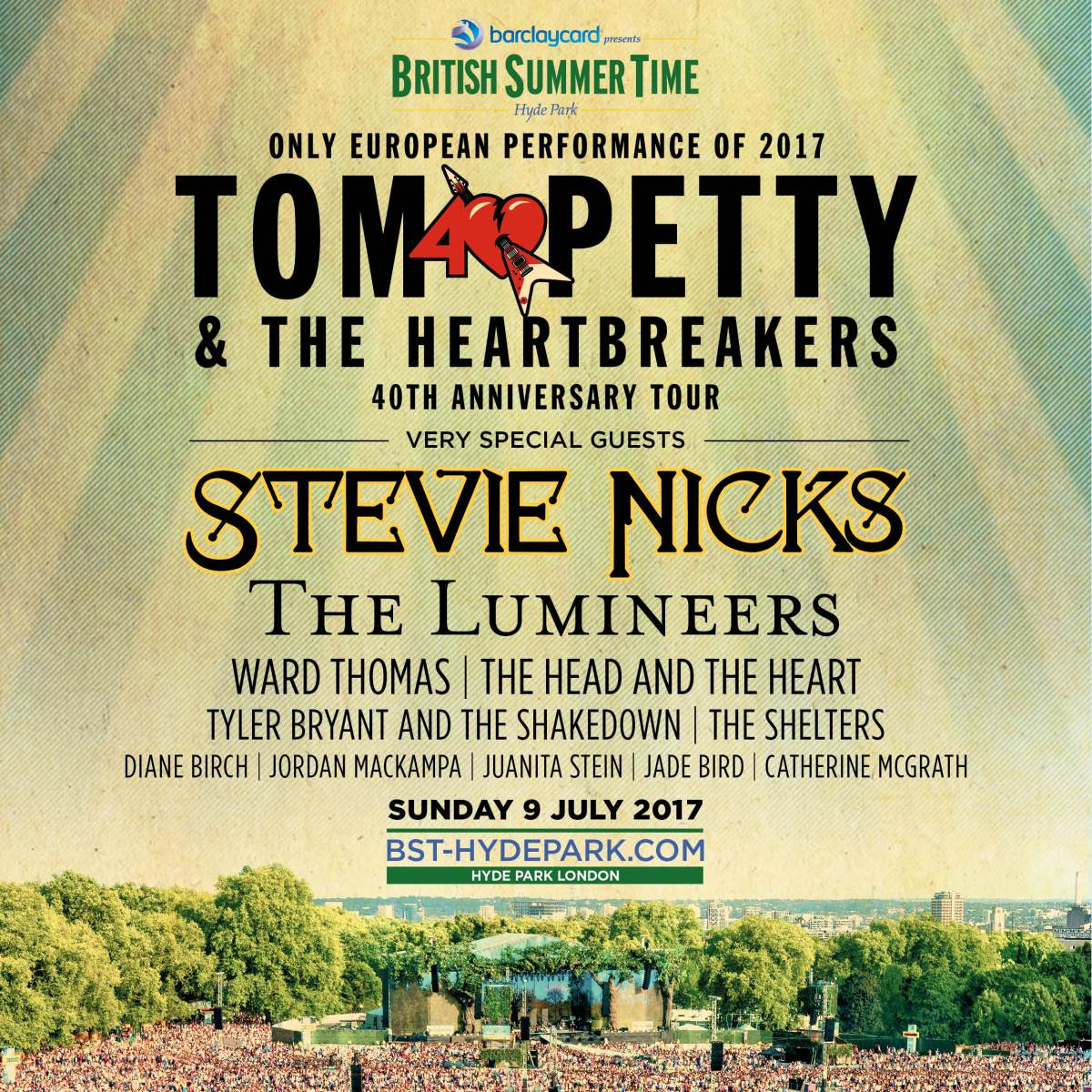 Festival Review: British Summer Time - Feat. Tom Petty, Stevie Nicks, The Lumineers & More