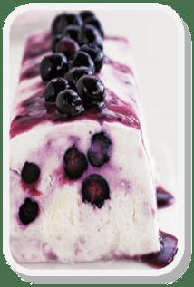 Blueberry Ripple Yoghurt http://goo.gl/RZHRrv