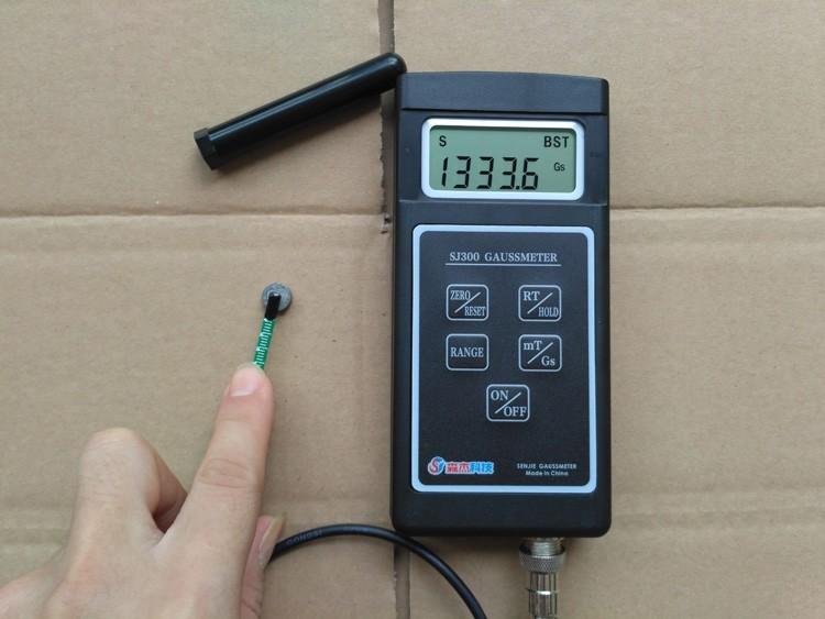 SJ300 Digital Gauss Meter Static Magnetic Field Tesla