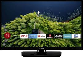 HITACHI H24E2000 61 cm (24 Zoll) Fernseher (HD Ready, Smart TV, Prime Video, Works with Alexa, Triple-Tuner, PVR)