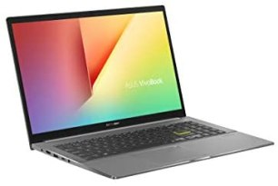 ASUS VivoBook S15 S533FA (90NB0LE3-M00210) 39,sechs Zentimeter (15,sechs Zoll, Full High Definition, WV, matt) Notebook (Intel Core i5-10210U, Intel UHD-Grafik 620, 8GB RAM, 512GB SSD, Windows 10) indie black