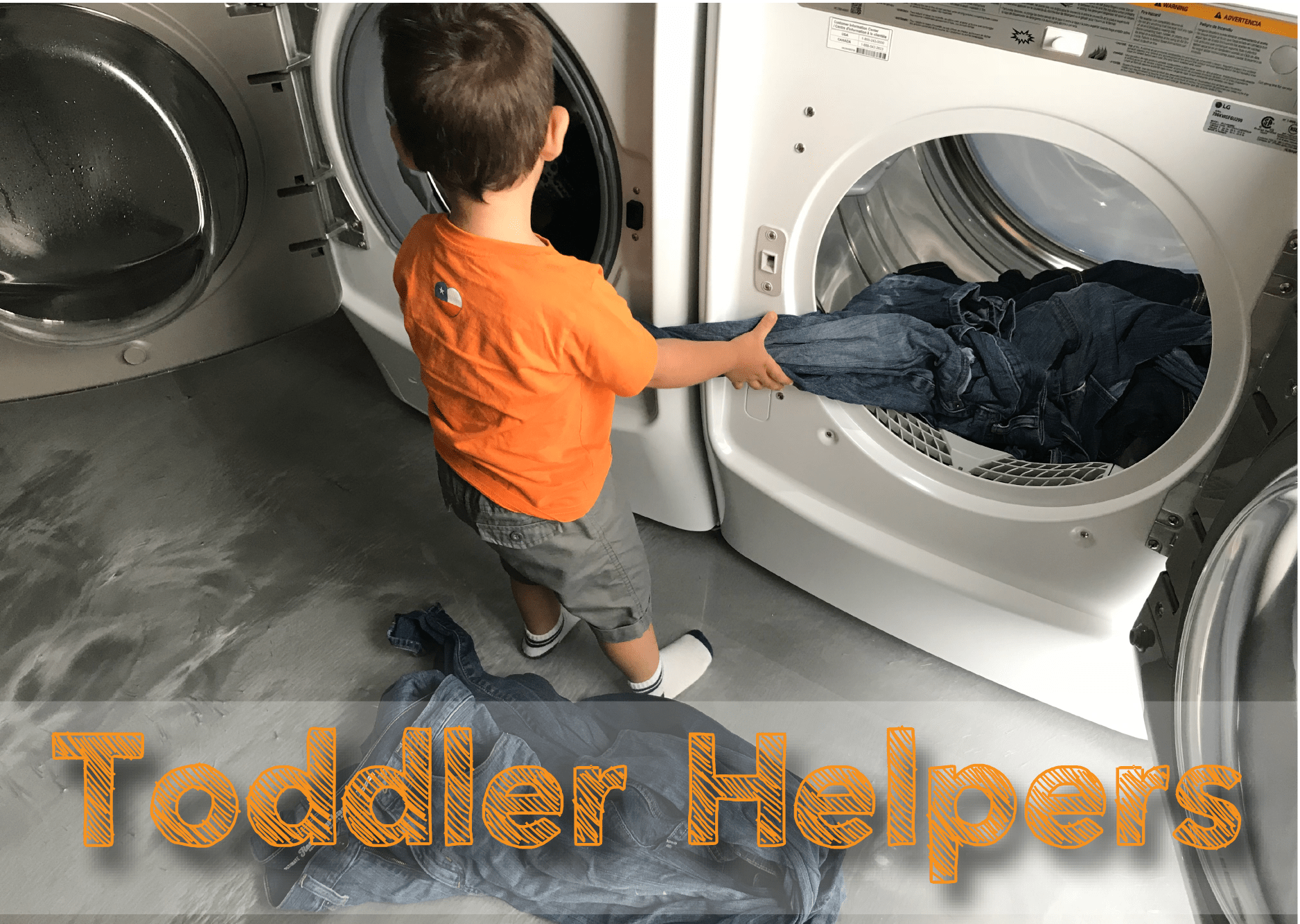 Toddlers Helping Around the House — Thanks Mommy Blog