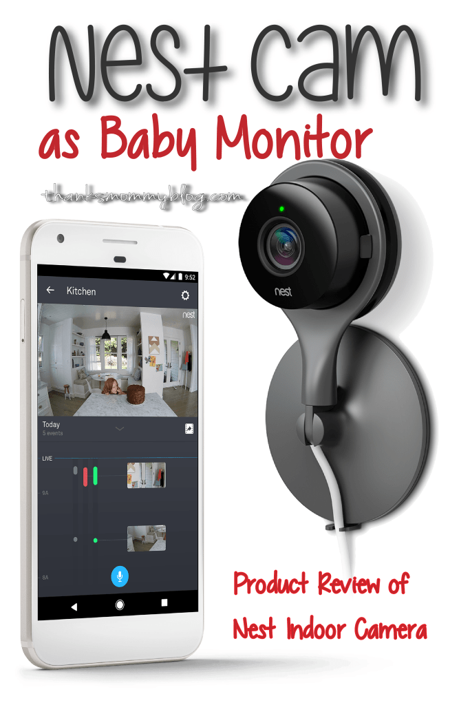 Nest Indoor Camera as Baby Monitor