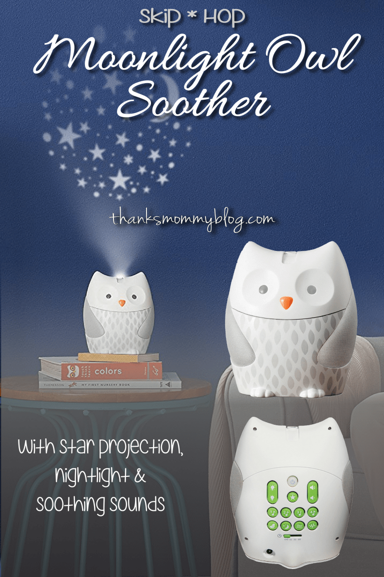 Skip Hop's Moonlight & Melodies Nightlight Owl Soother -- Thanks Mommy Blog