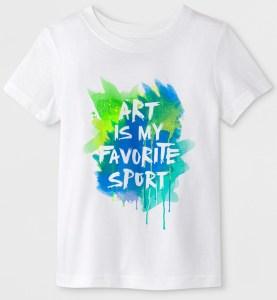 Cat & Jack Art is My Favorite Sport