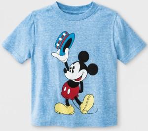 Target-Mickey Toddler Shirt