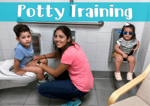 Our Potty Training Regression Solution
