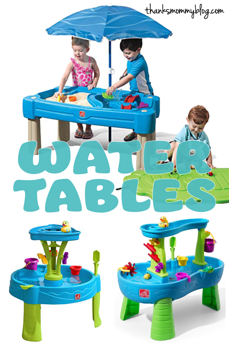 Water Tables for Toddlers