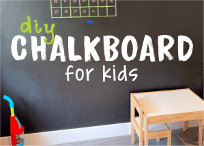DIY Chalkboard Fun for Kids