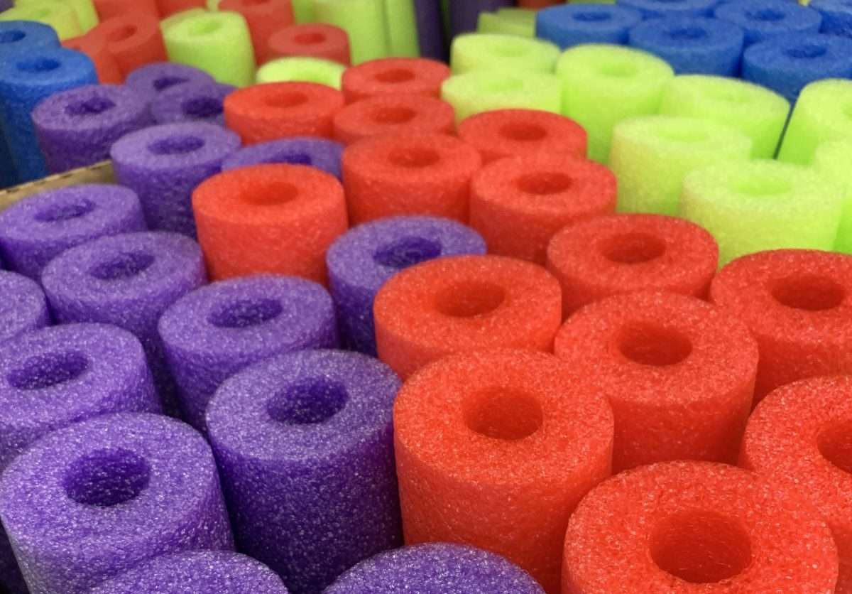 Pool Noodle Toddler Activities