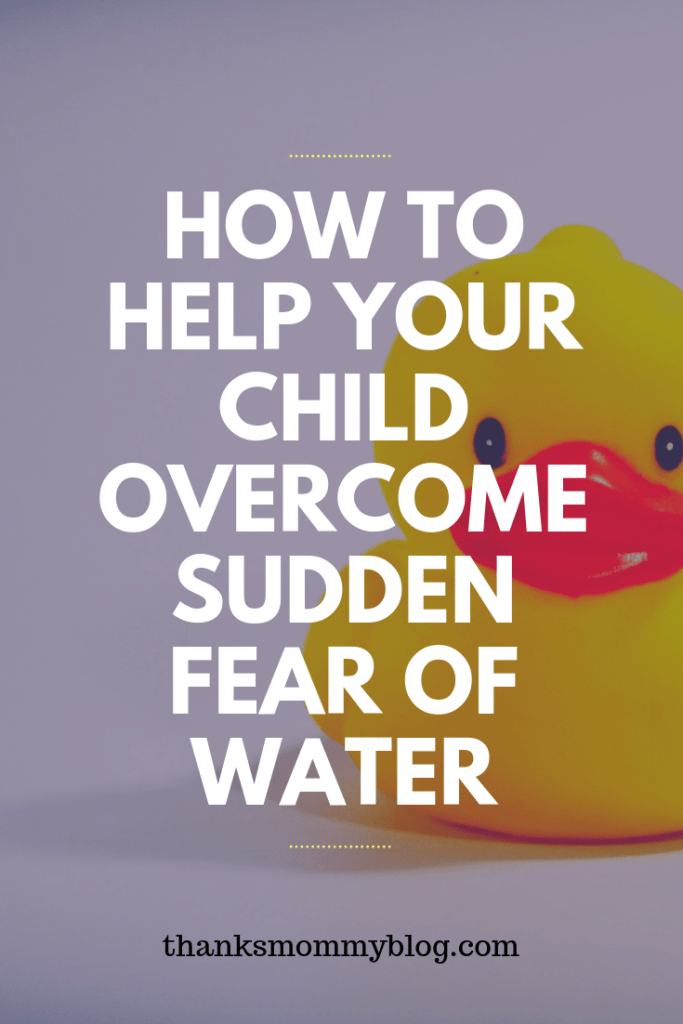 How To Help Your Child Overcome Sudden Fear Of Water