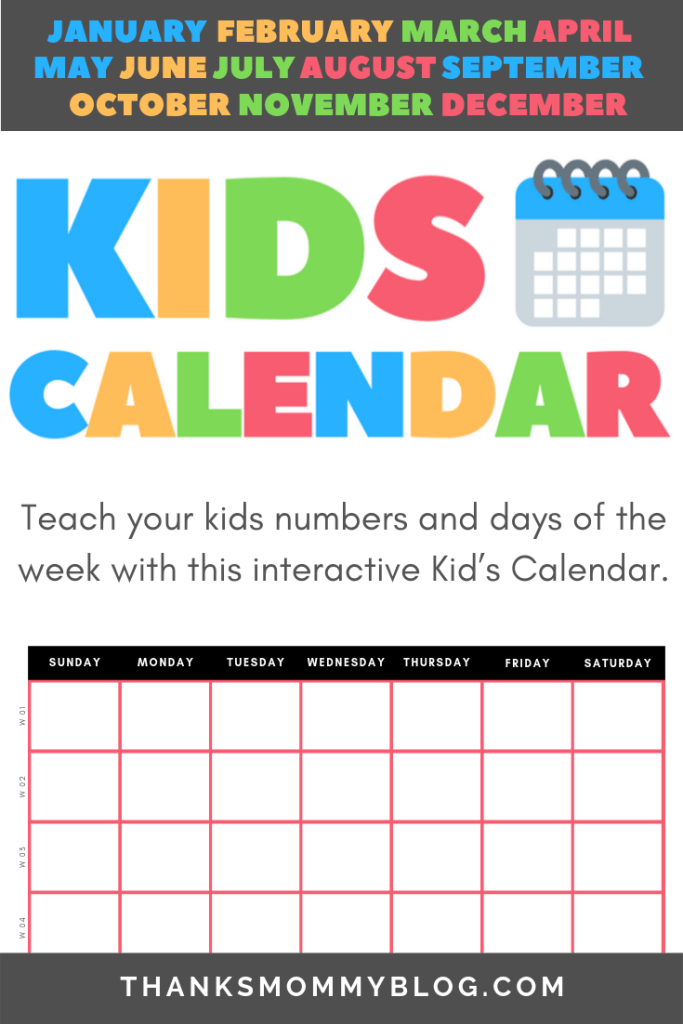 How To Teach The Fundamentals Of Time With Simple Calendar Download