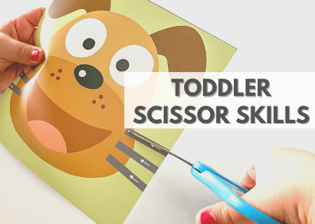 How To Grow Toddler Scissor Skills With Adorable And Fun Practice Books
