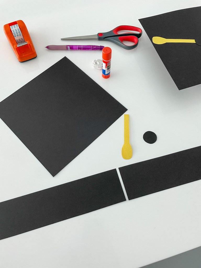 How To Make A Paper Graduation Cap (Fun 10 Minute Craft)