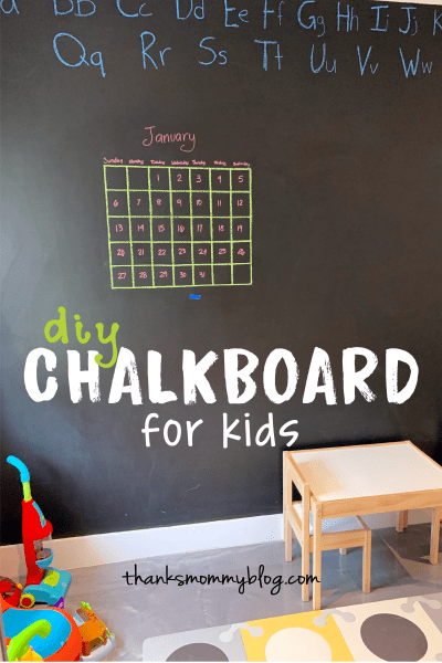 DIY Chalkboard for Kids