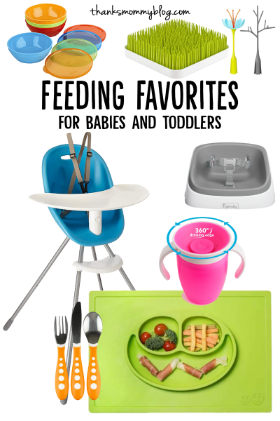 Feeding Favorites for Babies and Toddlers