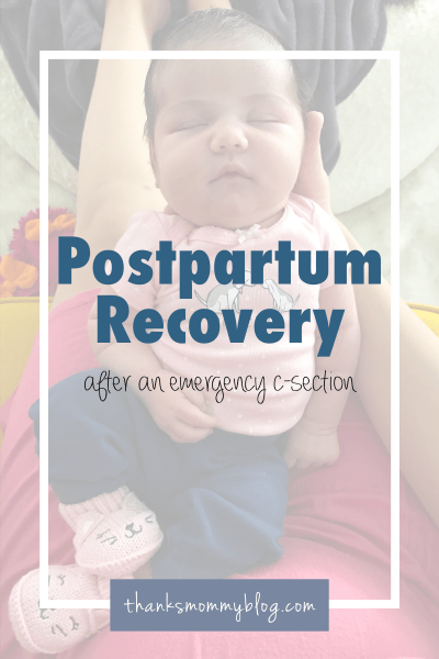 Postpartum Recovery After A C-Section