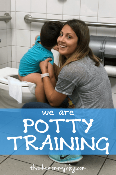 Potty Training Toddlers in Public