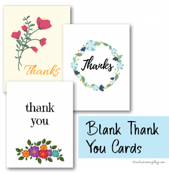 Free Thank You Cards Download