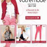 Descopera noua colectie Votre Mode – toate marimile de la 34 la 54