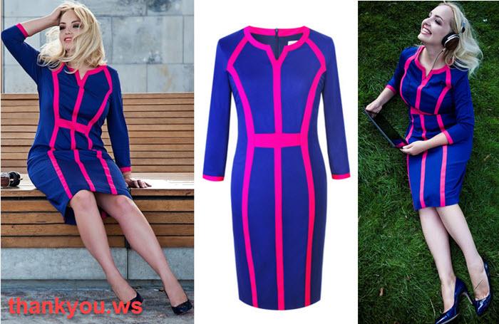 modele de rochii pentru femei plinute care avantajeaza formele voluptoase