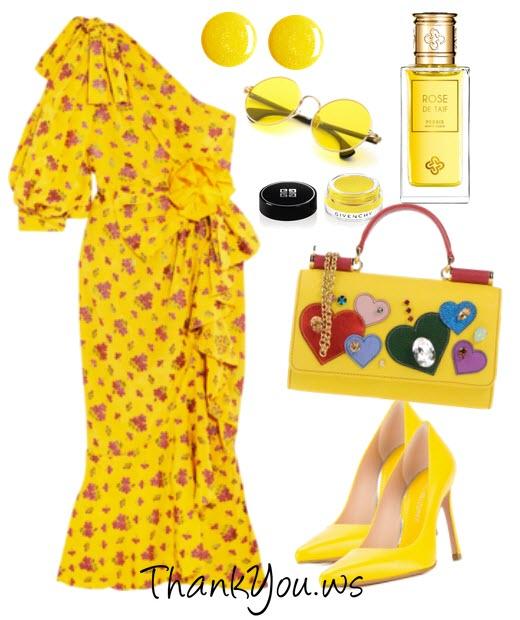 obsesia pentru galben
