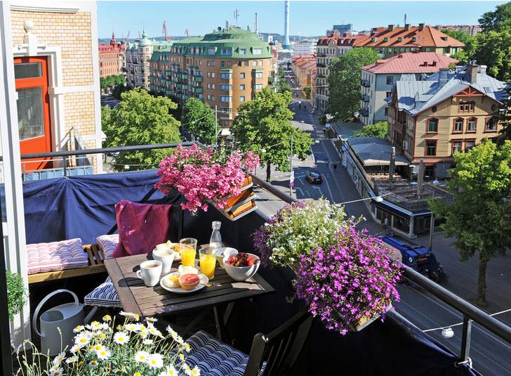 idei amanjarea balconului