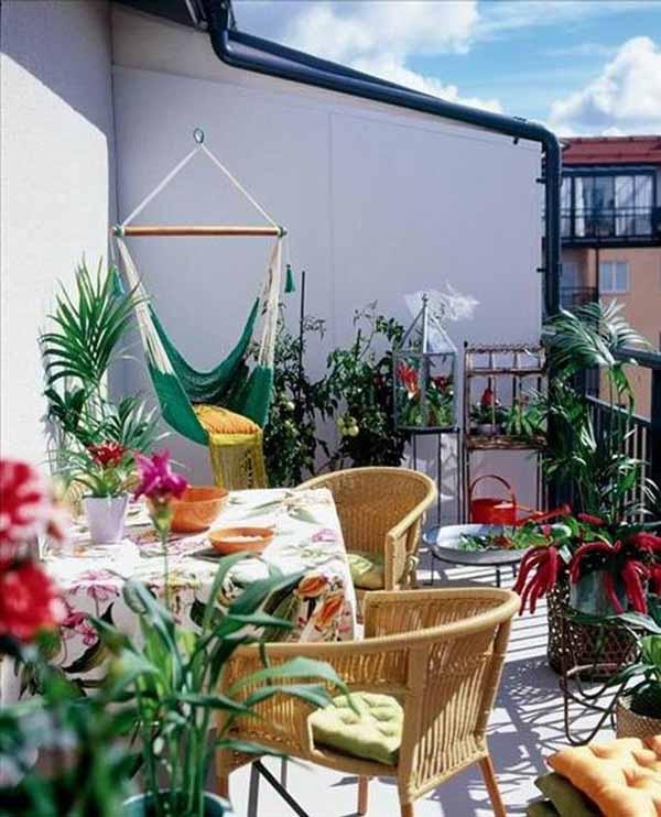 idei extraodinare de amenajare balcon mic